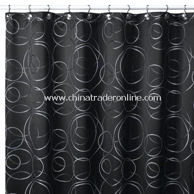 Eclipse Fabric Shower Curtain