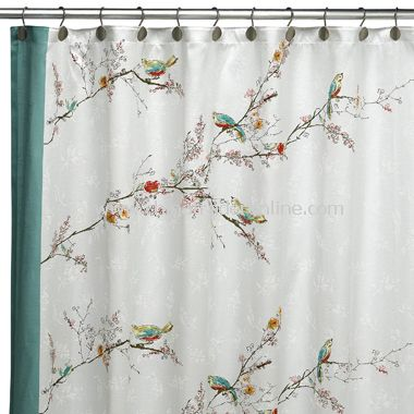 Excelsior Fabric Shower Curtain by Croscill,Extra Large Clear EVA ...
