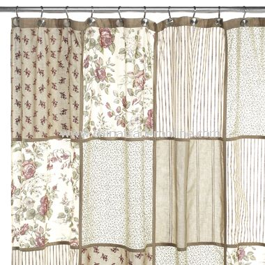 Shower Curtains cotton shower curtains : wholesale Glenmore Fabric Shower Curtain-buy discount Glenmore ...