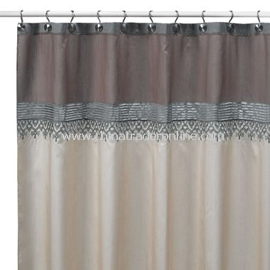 Kasbah Fabric Shower Curtain from China