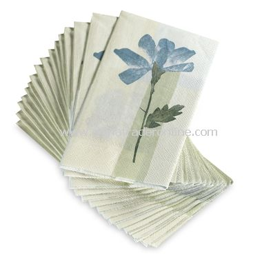 Spa Leaf Disposable Buffet/Guest Towels by Croscill (Set of 16)