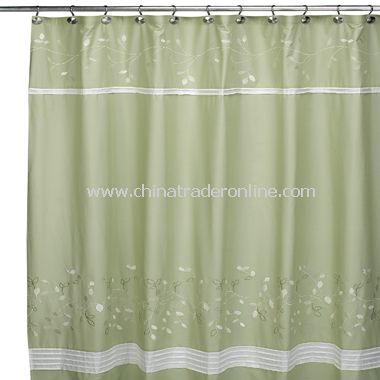 Spring Lake Fabric Shower Curtain