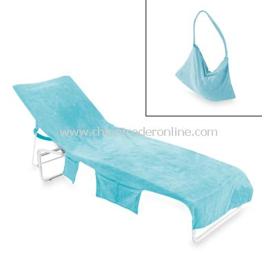 Wholesale terry chaise lounge towels 100 cotton buy for Beach towel chaise lounge cover