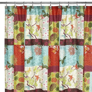 Croscill Asian Inspirations Shower Curtain Adult Archive