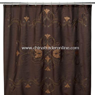 B. Smith Alexandria Fabric Shower Curtain