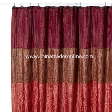 Candella Fabric Shower Curtain by B. Smith