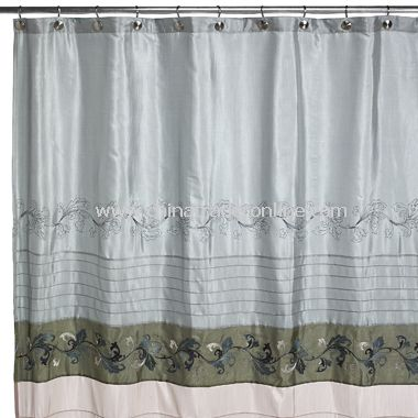 Cleo Fabric Shower Curtain,Metro Amethyst Fabric Shower Curtain by ...