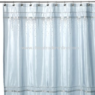 Croscill Oasis Brown and Aqua Shower Curtain Rings (Set of 12),2 ...