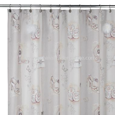 Haute Couture Fabric Shower Curtain