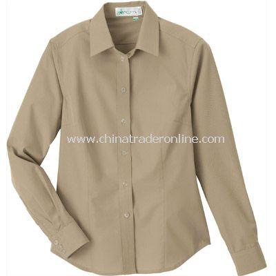 Ladies Bamboo Long Sleeve Shirt