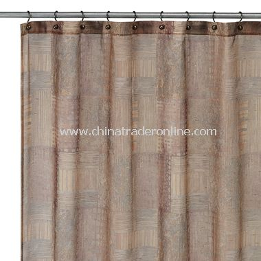 Minerale Copper Fabric Shower Curtain by Croscill from China