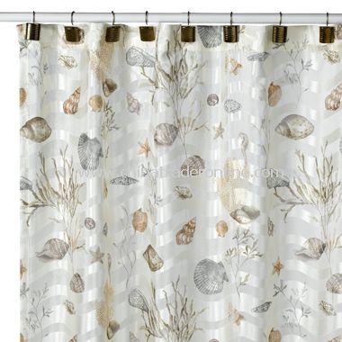 Neptune Grass Shower Curtain