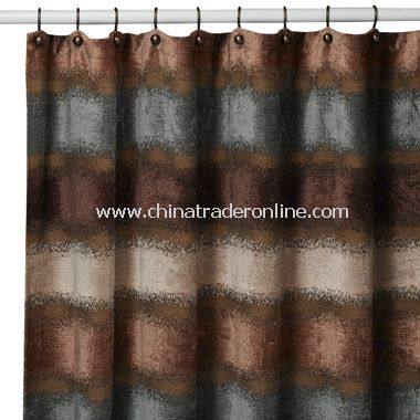 brown and white shower curtain. Paradox Fabric Shower Curtain by B  Smith Sedona Star Nutmeg Palm Desert