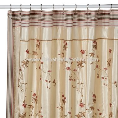 rose fabric shower curtains at Target - Target.com : Furniture