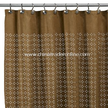 Nice Sedona Star Fabric Shower Curtain   Nutmeg