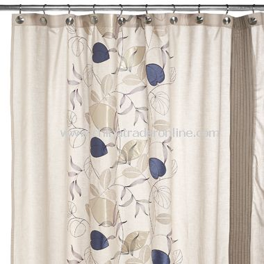Serena Fabric Shower Curtain by Croscill from China
