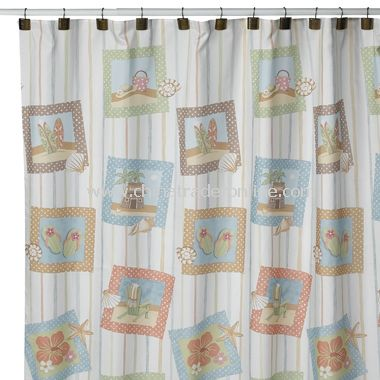 Surfs Up Shower Curtain by Saturday Knight Limited