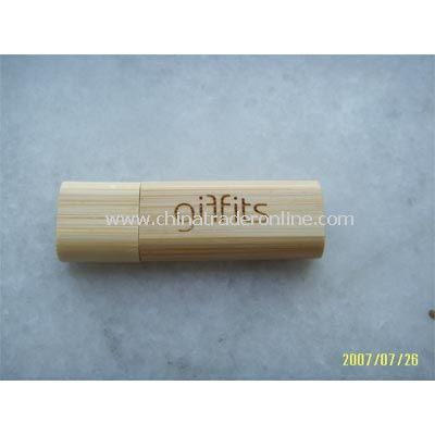 128MB Bamboo Flash Drive
