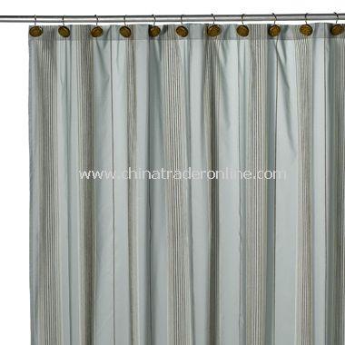Chadwick Blue Shower Curtain