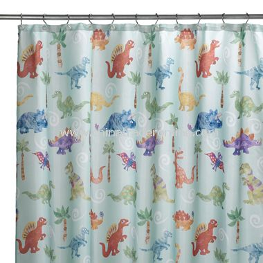 Dinosaur Friends Shower Curtain