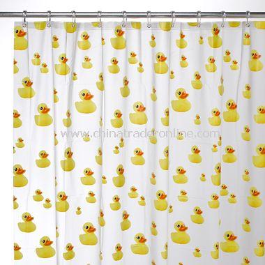Ducks EVA Shower Curtain from China
