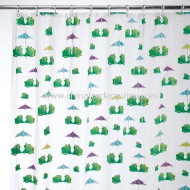 Frogs EVA Shower Curtain