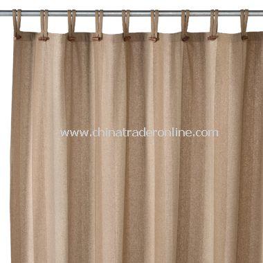Houston Mushroom Recycled Fabric Shower Curtain