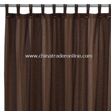 Houston Woodland Recycled Fabric Shower Curtain