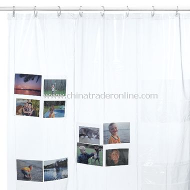 Shower Pics Vinyl Shower Curtain