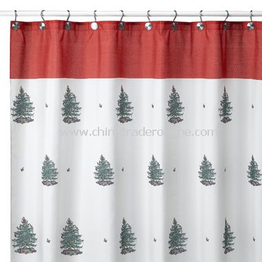 Single Stall Shower Curtain Bathroom Shower Curtain