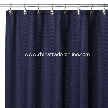 Weston Fabric Shower Curtain - Navy