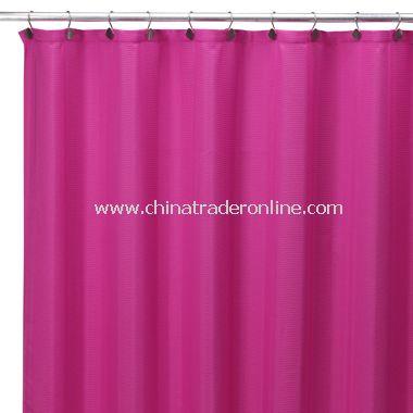 Weston Fuschia Fabric Shower Curtain