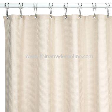 Weston Ivory Fabric Shower Curtain