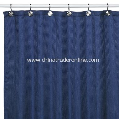 Shower Curtains black and blue shower curtains : wholesale Weston Black Shower Curtain-buy discount Weston Black ...