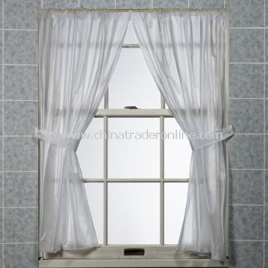5 Gauge Bathroom Window Curtain