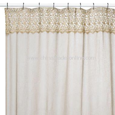 Parachute Linen Fabric Shower Curtain