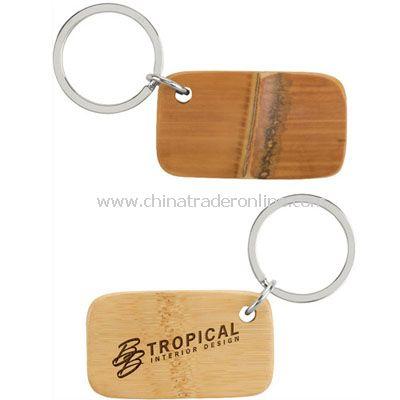 Cadeau Bamboo Keychain