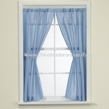 Fabric Bathroom Window Curtain