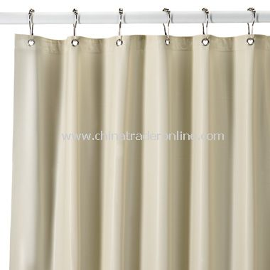 Heavy Duty 10 Gauge Vinyl Shower Curtain Liner