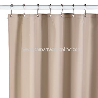 Hotel Linen Fabric Shower Curtain Liner