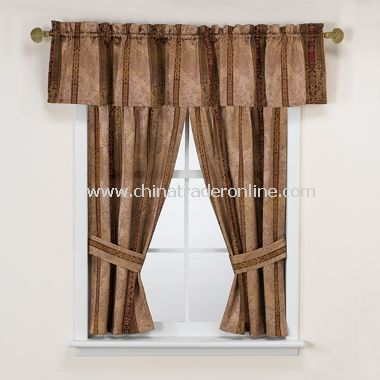 Townhouse Bathroom Window Valance