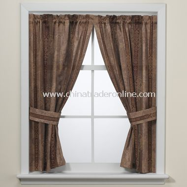 Townhouse Tailored Window Curtain Pair by Croscill