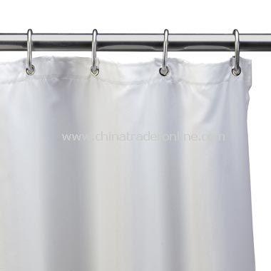 White EVA Vinyl Shower Curtain Liner