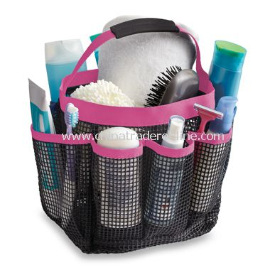 Mesh Shower Tote - Pink