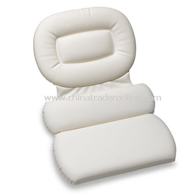Royal Spa Three-Chamber Bath Pillow