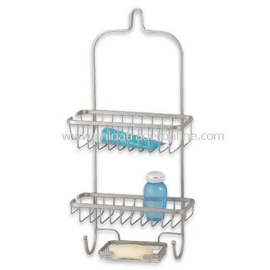 Satin Nickel Shower Organizer
