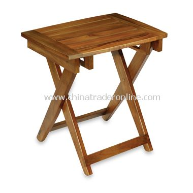 Teak Folding Shower Bench