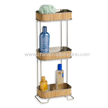 Formbu Bamboo 3-Shelf Bath Tower