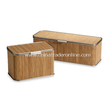 Formbu Bamboo Natural Toilet Tissue Box with Lid
