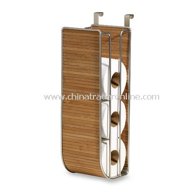 Formbu Natural Bamboo Over-The-Tank Toilet Tissue Holder